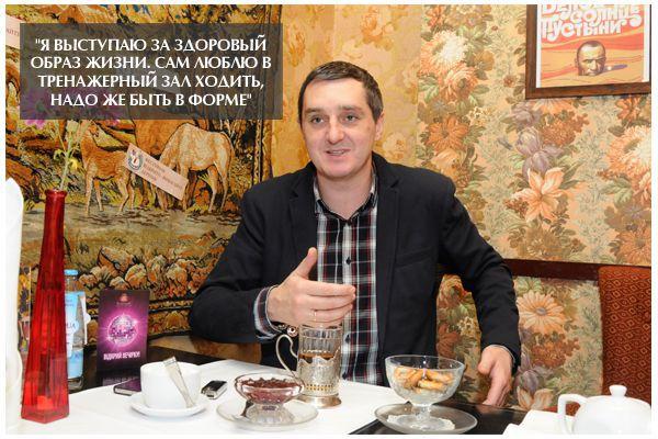 Интервью «Козырной Еды»: Вадим Мичковский (Дядя Жора)