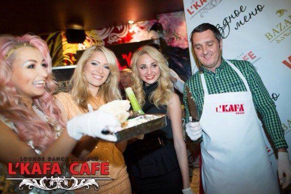 Презентация звездного блюда в L'KAFA CAFE
