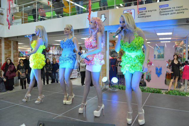 Дядя Жора и «Бигуди шоу» на мероприятии в ТЦ «Дарынок»
