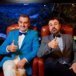 Дядя Жора и Антон Лирник дует ведущих