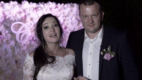 Молодожены и гости свадьбы