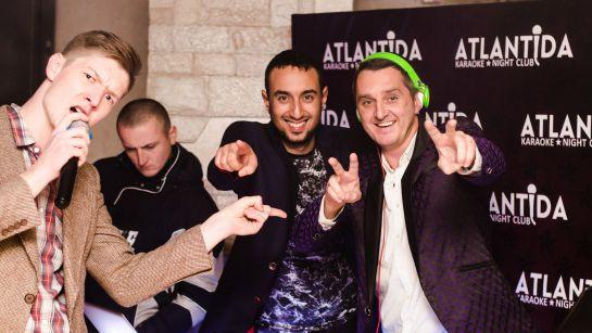 Клубная вечеринка и DJ set от Дяди Жоры в клубе Atlantida