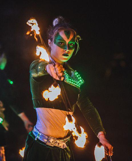 огненное шоу - ендорфин