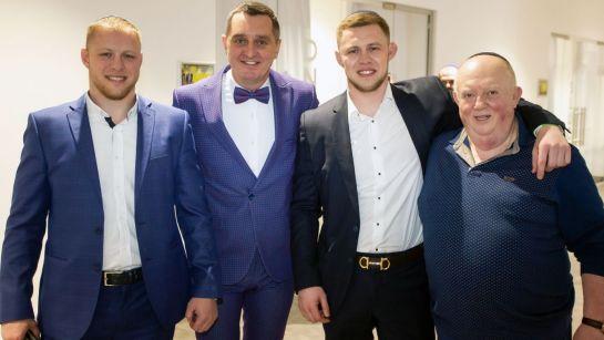 Дядя Жора с гостями на празднике Пурим 2020
