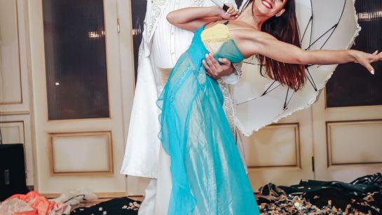 Выступление танцоров на корпоративе ВАЮР 20 лет Влюбленные в мороженое с ведущим Дядей Жорой