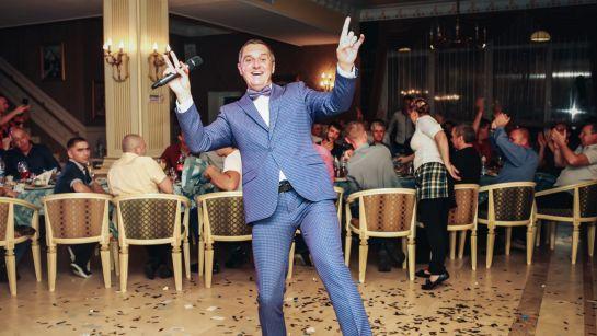 Дядя Жора зажигает на корпоративе ВАЮР 20 лет закохані в морозиво