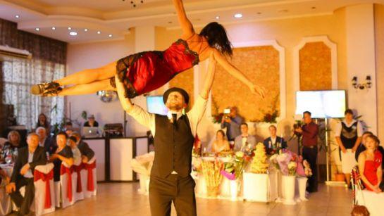 Зажигательное фламенко на свадьбе Виктории и Александра в Магдалиновке с Дядя Жора Company