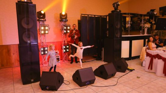 Детский конкурс на свадьбе Виктории и Александра в Магдалиновке с Дядя Жора Company