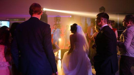 Веселые танцы на свадьбе Виктории и Александра в Магдалиновке с Дядя Жора Company