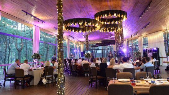 Красивый интерьер на вечеринке-сюрприз ко Дню рождения Анатолия с Дядя Жора Company