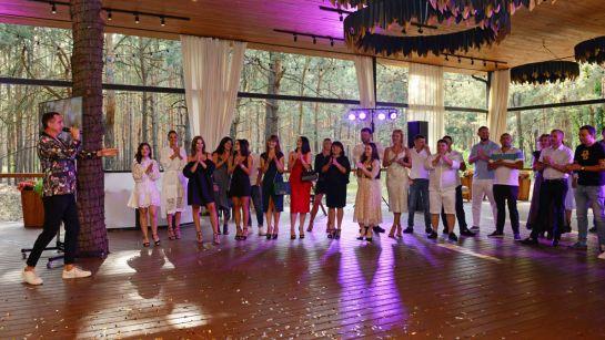 Приветствие гостей на вечеринка-сюрприз ко Дню рождения Анатолия от Дядя Жора Company