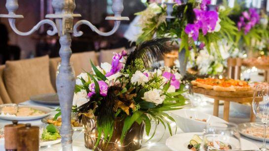 Праздничный стол на Gatsby birthday party с Дядя Жора Company