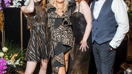 Фото с Могилевской на Gatsby birthday party с Дядя Жора Company
