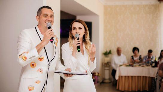 Дядя Жора и Марина Сенета на Юбилее 50 лет в г.Гайворон с Дядя Жора Company