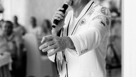 Лучший ведущий Дядя Жора на Юбилее 50 лет в г.Гайворон с Дядя Жора Company
