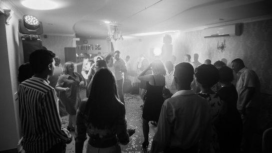 Праздничная дискотека на Юбилее 50 лет в г.Гайворон с Дядя Жора Company