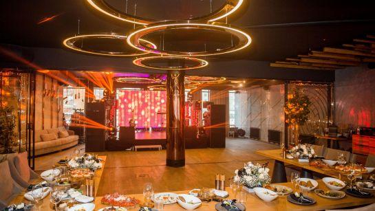 Красивая сервировка стола на вечеринке-сюрприз ко Дню рождения супруги с Дядя Жора Company